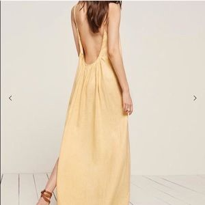 Reformation Rio Dress in Buttercup